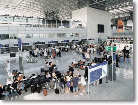 Frankfurt Airport Terminal 2 Ankunft
